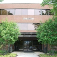 Front of Chester Building, Towson Maryland